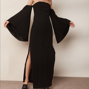 C/ Meo collective black maxi gown
